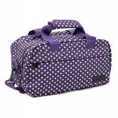 Member's SB-0043 palubní cestovní taška 40x20x25 cm Ryanair fialová/bílá
