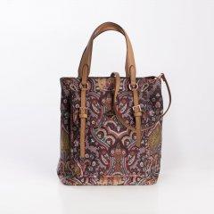 Oilily City Handbag Paisley dámská kabelka 24 cm Coffee