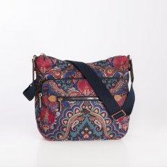 Oilily Shoulder Bag M Paisley dámská kabelka 27 cm Royal Blue