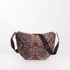 Oilily City Shoulder Bag Paisley dámská kabelka 28 cm Coffee