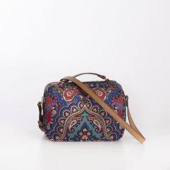 Oilily Shoulder Bag S Paisley dámská kabelka 22 cm Royal Blue