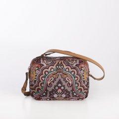 Oilily Shoulder Bag S Paisley dámská kabelka 22 cm Coffee