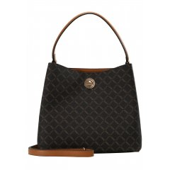 L.CREDI Filiberta Hobo Bag Brown