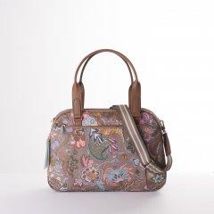 Oilily Amelie Sits M Carry All květovaná kabelka 35 cm Elmwood