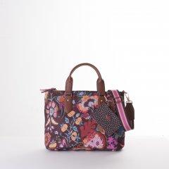 Oilily Amelie Sits Handbag květovaná kabelka 28 cm Port