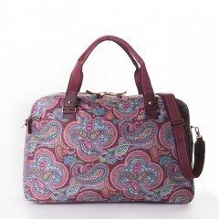 Oilily Helena Paisley Weekender cestovní taška 55 cm Port