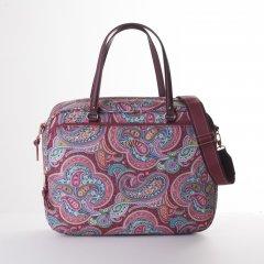 "Oilily Helena Paisley Office Bag kabelka na 14"" notebook 40 cm Port"