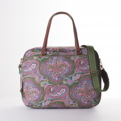 "Oilily Helena Paisley Office Bag kabelka na 14"" notebook 40 cm Cypres"