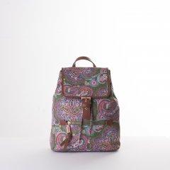 Oilily Helena Paisley City Backpack dámský městský batoh 6,3 l Cypres