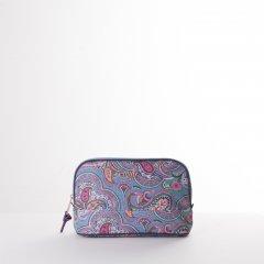Oilily Helena Paisley M Cosmetic Bag kosmetická taštička 26,5 cm Adriac Blue