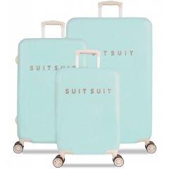 SUITSUIT Fabulous Fifties Luminous Mint sada 3 cestovních kufrů TSA 77/67/55 cm