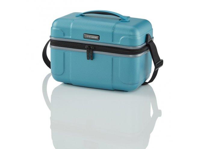 Travelite Vector Beauty Case kosmetický kufřík 36x27x20 cm Turquoise