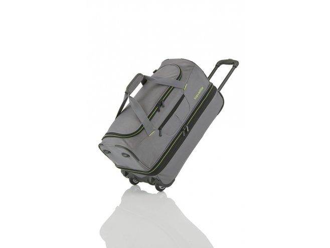 Travelite Basics Wheeled duffle S Grey/green