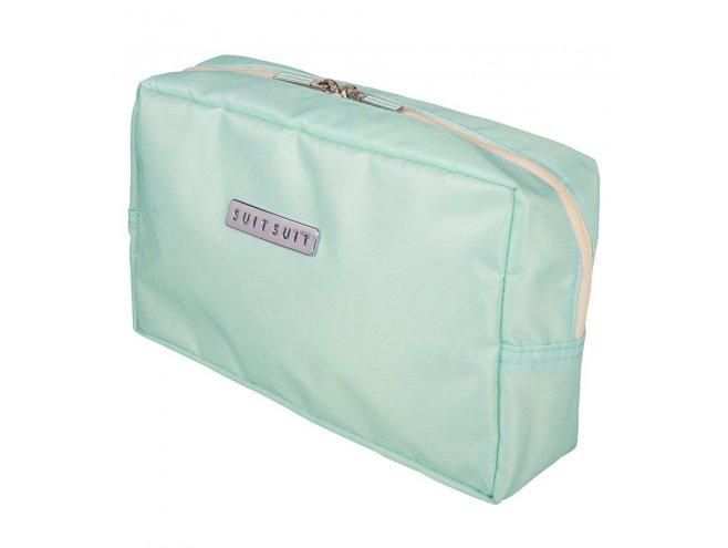 SUITSUIT Toiletry Bag Luminous Mint cestovní toaletní / kosmetická taška 25x15x8 cm