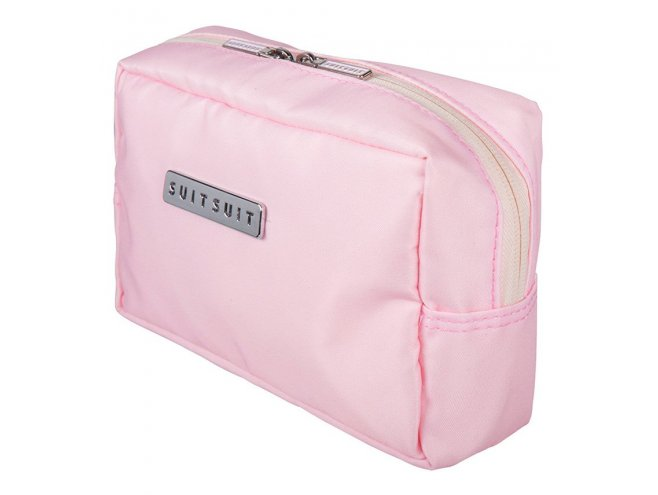 SUITSUIT Make-up Bag Pink Dust cestovní organizér na kosmetiku 20x12x7 cm