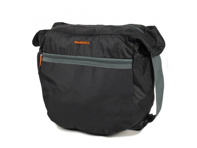Member's SB-0046 palubní taška skládací 32x30x15 cm černá