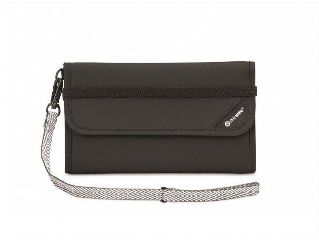 Pacsafe RFIDsafe V250 bezpečnostní peněženka černá
