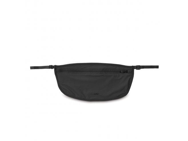 Pacsafe Coversafe S100 Black dámská skrytá bezpečnostní kapsa černá