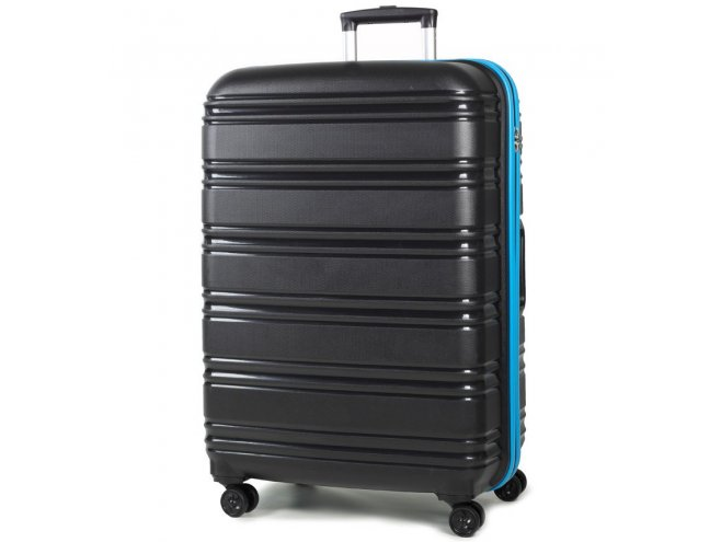 ROCK TR-0164 Impact II L cestovný kufor TSA 76 cm 104 l Black/Blue