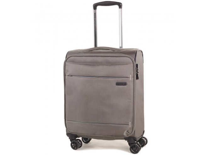 ROCK TR-0161 DeLuxe-Lite S ultraľahký palubný kufor TSA 55 cm Bronze