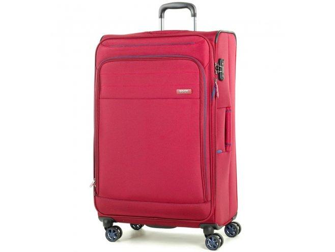 ROCK TR-0162 Apollo L cestovný kufor TSA 79 cm 90-104 l červený