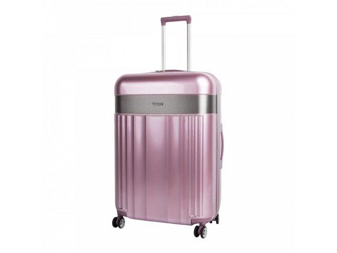 Titan Spotlight Flash 4w M cestovní kufr TSA 67 cm Wild Rose