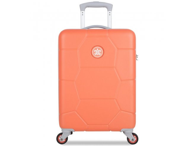 SUITSUIT Caretta S Melon palubní kufr na 4 kolečkách 55 cm