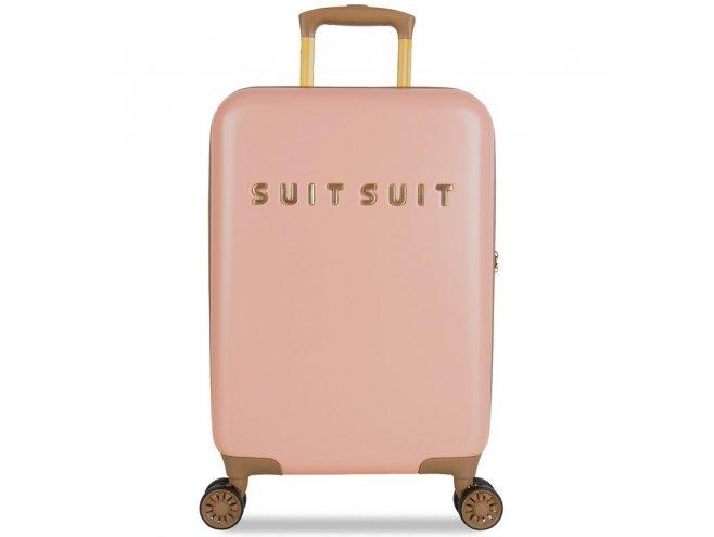 SUITSUIT Fab Seventies S Coral Cloud palubní kufr na 4 kolečkách TSA 55 cm