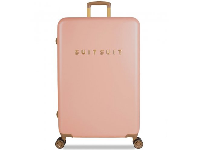 SUITSUIT Fab Seventies L Coral Cloud cestovní kufr na 4 kolečkách TSA 77 cm