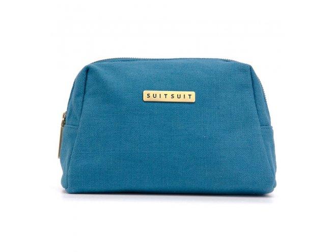 SUITSUIT Toiletry Bag Seaport Blue cestovní toaletní / kosmetická taška 25x15x8 cm