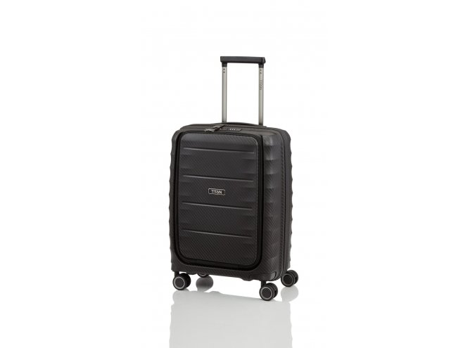 """Titan Highlight 4w S palubní business kufr na 15,6"""" notebook TSA 55 cm 42 l Black"""