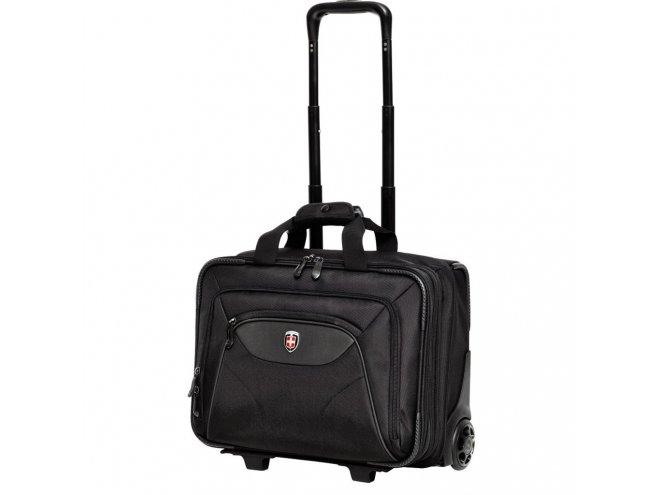 "Ellehammer Copenhagen ""Commuter"" business palubní kufr na 15,6"" notebook 43 cm černý"