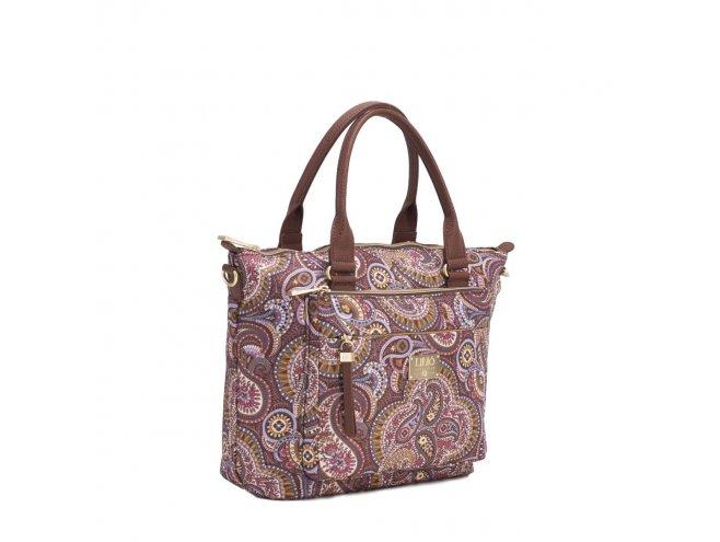 LiLiÓ Paisley Park Handbag elegantní kabelka 28 cm Nutmeg Gold