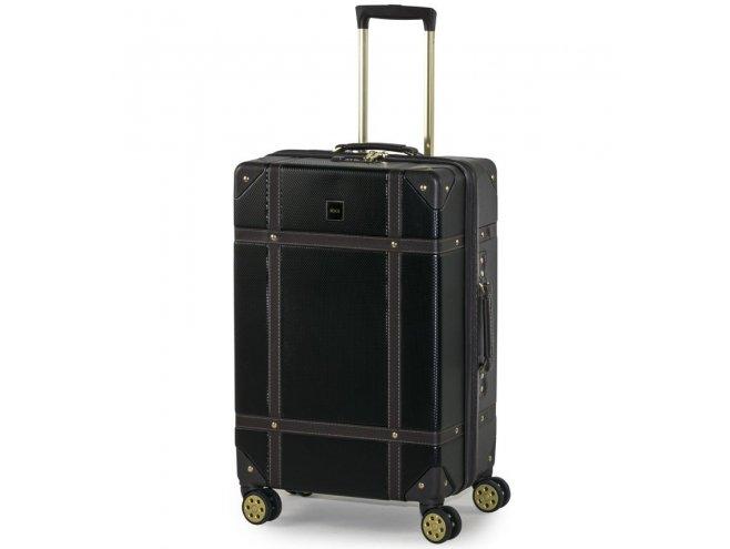 ROCK TR-0193 Vintage M cestovní kufr TSA 68 cm Black