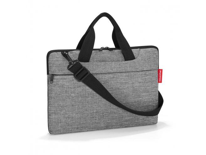 "Reisenthel Netbookbag elegantní taška na notebook 15,6"" Twist Silver"