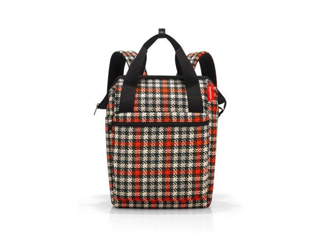 Reisenthel Allrounder R cestovní batoh/taška 12 l Glencheck Red