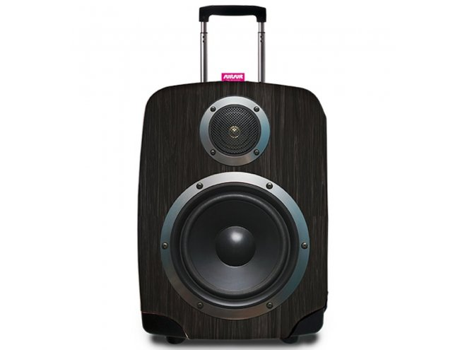 REAbags 9053 univerzální obal na cestovní kufr 60-80 cm Boombox