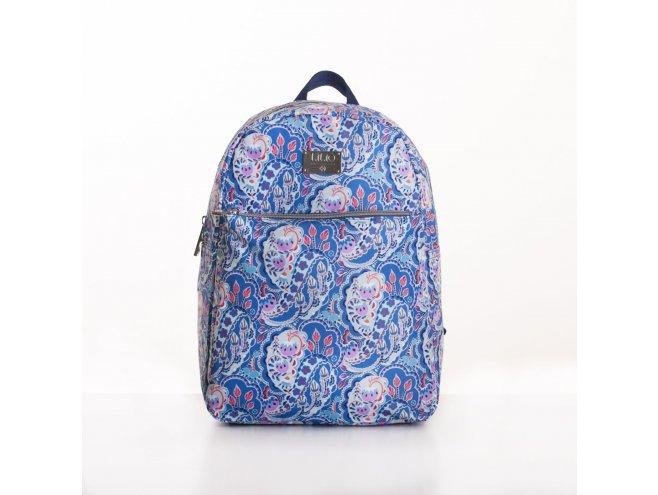 LiLiÓ Pop Art Paisley M Backpack městský dámský batoh 7,1 l Blueberry