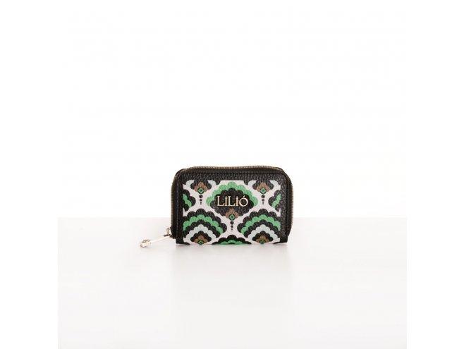 LiLiÓ Clover Mix XS Zip Wallet dámská peněženka 11,5 cm Emerald