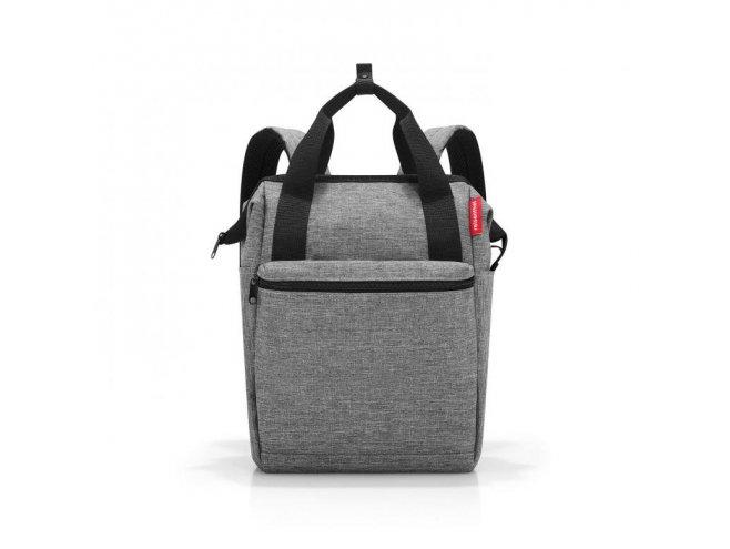 Reisenthel Allrounder R cestovní batoh/taška 12 l Twist Silver