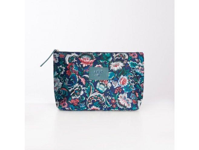 LiLiÓ Smart Flowers L Cosmetic Bag kosmetická taška 28 cm Pine Wood
