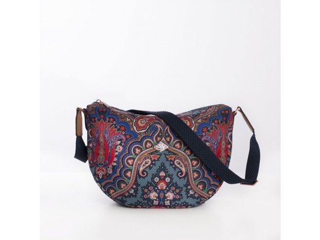 Oilily City Shoulder Bag Paisley dámská kabelka 28 cm Royal Blue