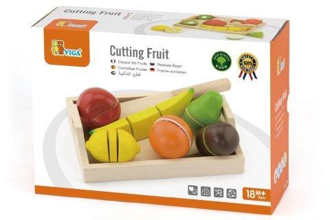 Krájení ovoce s tácem