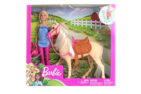 Barbie Panenka s koněm FXH13