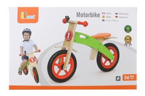 Dřevěné odrážedlo - motorka