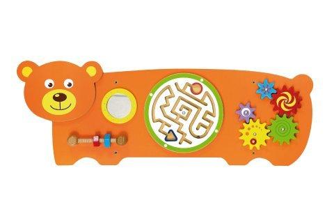 Dřevěná nástěnná hra - medvěd