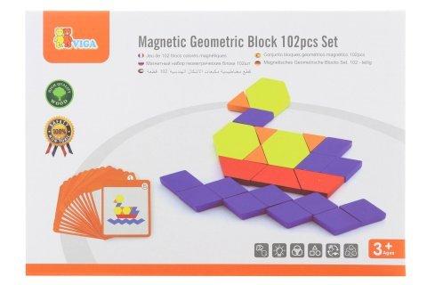 Dřevěné magnetické tvary