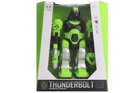 Robot zelený na baterie