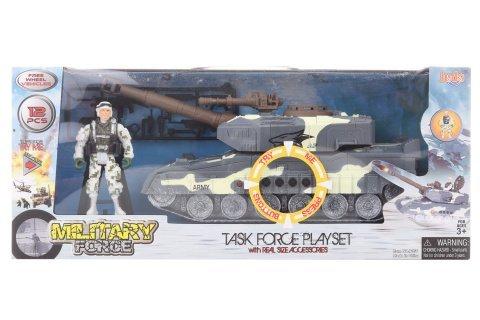 Vojenská sada s tankem na baterie