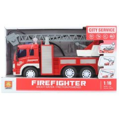 Auto požární stříkací na baterie
